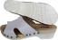 Holz weiss Leder 12 Echt 50 Clogs Gr Pantolette 16 Schweden 5 39 fxwgdXdO
