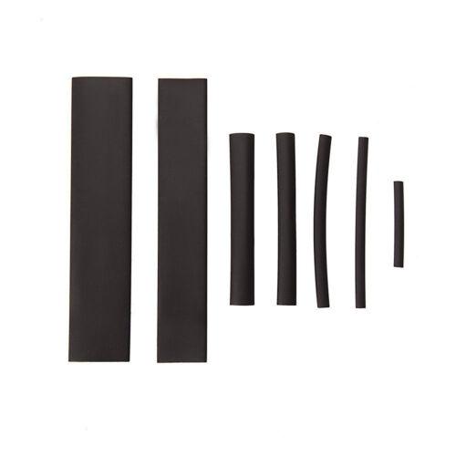 127Pcs Black Glue Weatherproof Heat Shrink Sleeving Tubing Assortment Kit top