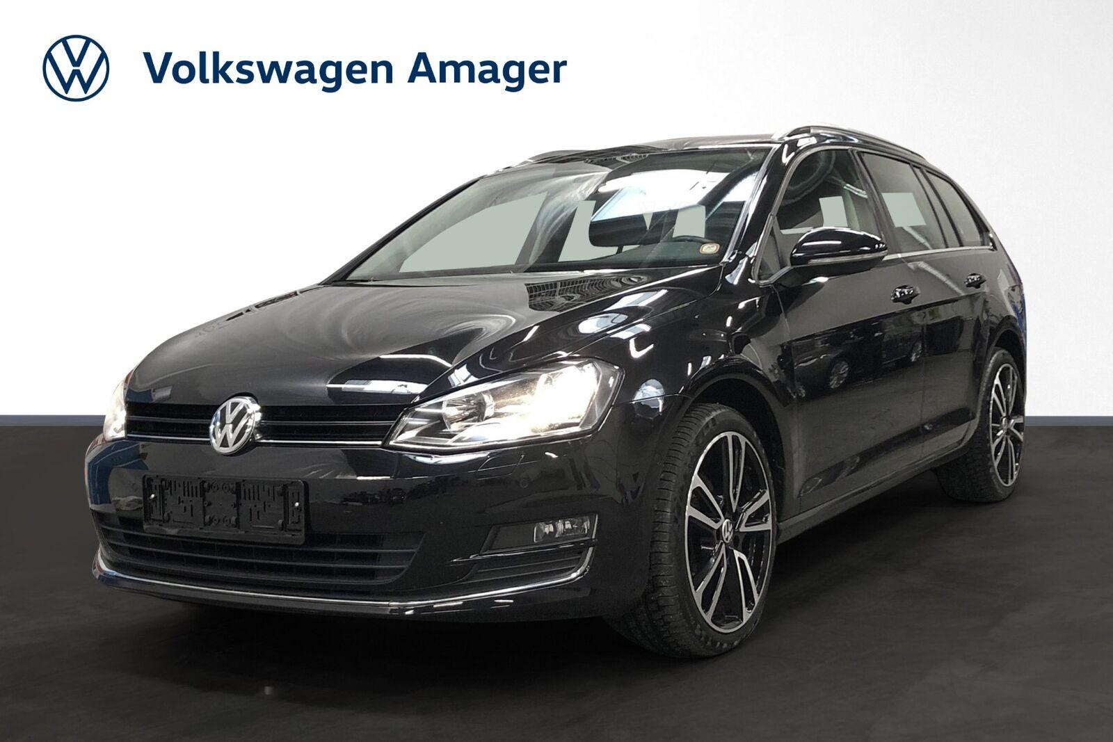 VW Golf VII 1,4 TSi 140 Highline Variant DSG BMT 5d - 179.900 kr.