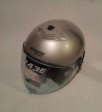 Nolan N43E N-Com Helmet XS Silver with Bag Cover L@@K