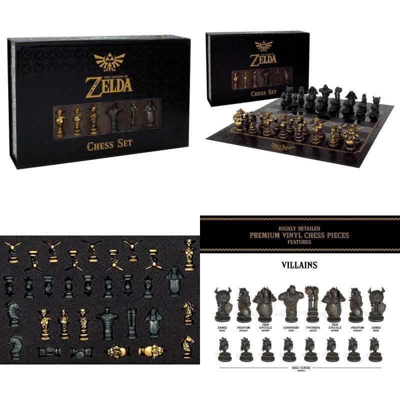 The legend of zelda schachspiel 32 angepasste formen figuren mit schach