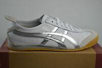 Asics onitsuka Tiger Mexico 66 white Metall silber leder Sneaker Schuhe shoes
