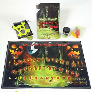 Ouija Board Outdone! New Halloween Witch Board (TM) - Spirit Board Get In Touch!