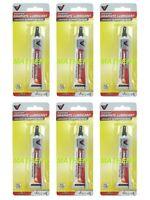 (6) Victor Fine Powder Graphite Dry Lubricant 6.5g Tubegunfishing Reelhinges