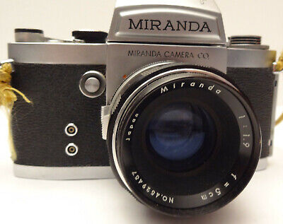 Abundante Miranda Camera Co Objectif1:1.9 - F=5 Vintage Tbe