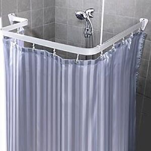 Bendable Shower Curtain Rod Flexible Custom Free Form Arch