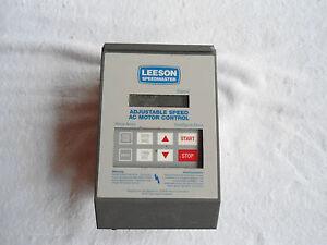 Leeson Adjustable Speed Ac Motor Control Ebay