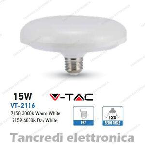 Lampadina-led-V-TAC-15W-90W-E27-VT-2116-ufo-disco-alta-luminescenza-lampada