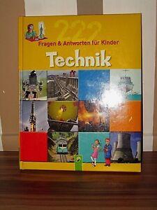 Super-Buch-222-Fragen-und-Antworten-fuer-Kinder-039-Technik-039-ab-8-Jahren-neuwertig