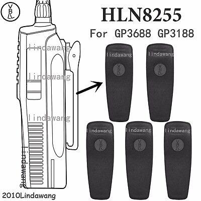 10x Belt Clip HLN8255B for Motorola CP200 CP200D CP200XLS Portable Radio
