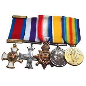 WW1-Medals-COLONEL-Medal-Group-British-Army-DSO-War-Medal-Victory-Mons-Star-NEW
