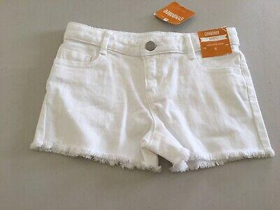 NEW Girls Size 8 7-8 Gymboree Outfit White Jean Shorts /& Tie Dye Top NWT