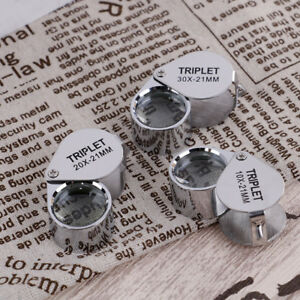 Triplet-Diamond-Glass-Magnifying-Magnifier-Jeweler-Eye-Jewelry-Loupe-Loop-J
