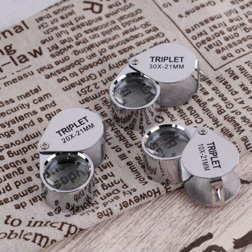 Triplet Jewelers Eye Loupe Magnifier Magnifying Glass Jewelry DiamondWith ODLK