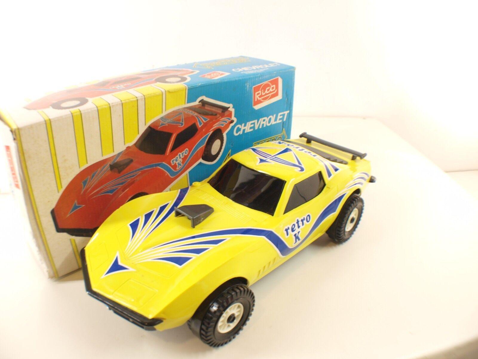 Rico Retro K Carga Spain n° 35 Chevrolet moteur à friction rare 35 cm tôle boite