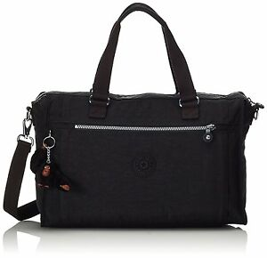 Pauline Bag Kipling rrp 79 Weekender Tote Black travel Eqd1O