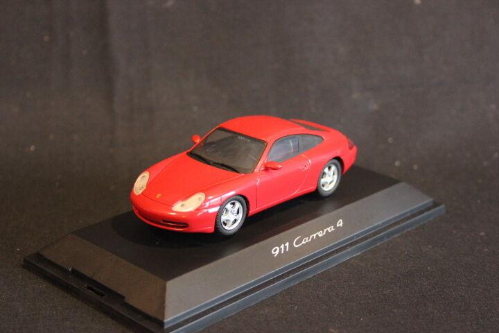 Schuco (DV) Porsche 911 Carrera 4 1 43 rouge (HB)