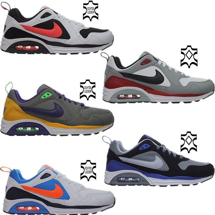 Nike Air Max trax Leather messieurs Lifestyle sneaker Chaussures De Loisirs Cuir Neuf emballage d'origine-
