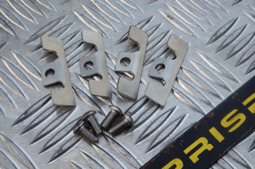 Peugeot 607 /& Seat Cupra Caliper Stainless Shims /& Screws bent ready to fit