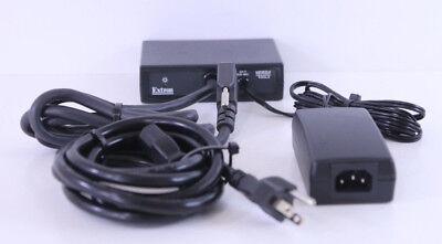 EXTRON P//2 DA2xi  1 x 2 VGA splitter Includes Power Supply and VGA Cable