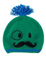 Gymboree Mr Magician Green Magician Face Sweater Hat 0 12 24 2t 3t 4t 5t