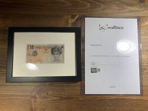 Banksy-Di-Faced-Tenner-Framed-with-COA-Steve-Lazarides-Art-Print-BNG-Bottleneck