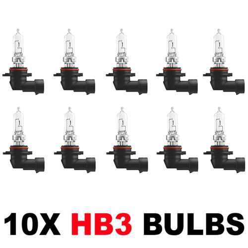 10 x Brand New HB3 9005 HEADLAMP HEADLIGHT FOG CAR BULBS 12v 60w