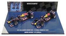 Minichamps Red Bull RB5 1-2 Finish Chinese GP 2009 Vettel/Webber 2 Car Set 1/43