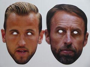 Gareth Southgate Celebrity Mask Card Face and Fancy Dress Mask