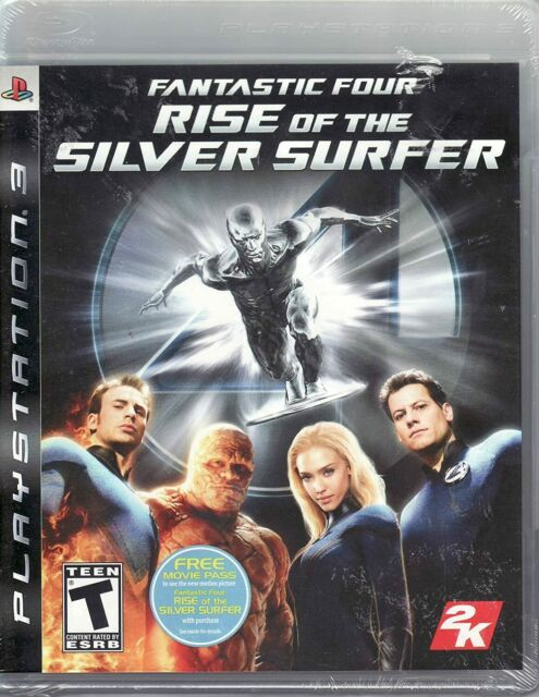 Fantastic Four Rise of the SIlver Surfer ( PS3 Sony Playstation 3 ) TESTED