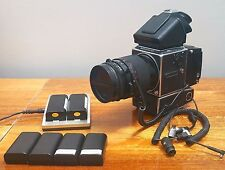 Hasselblad 555ELD, Phase One P25 Medium Format Digital Camera Back + 120MM ZEISS