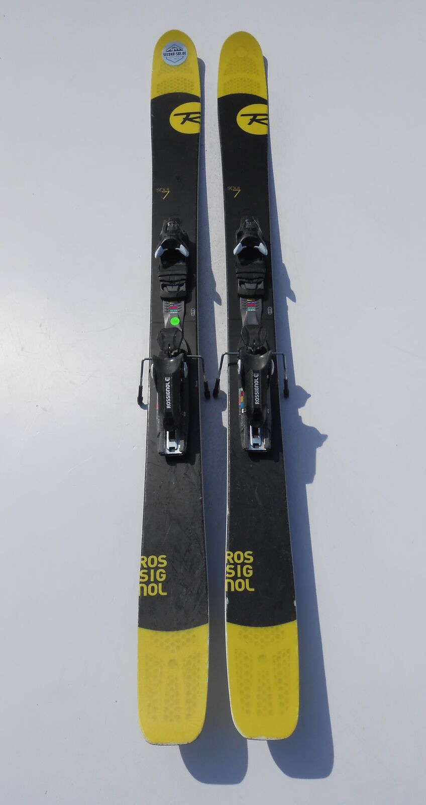 Rossignol Soul 7 Powder freeride ski longitud 172cm (1,72m) enlace incl.