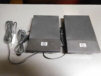 Hp Usb Powered Flat Computer/laptop Speakers - Model H-204 -