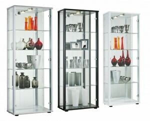 Large-2-Door-Mirrored-Selby-Display-Cabinet-With-Light-4-Glass-Shelves-4-Colours