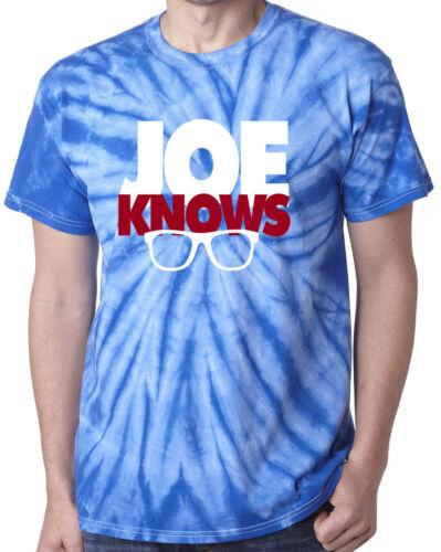 "Tie-Dye Joe Maddon Chicago Cubs /""Joe Knows/"" Kris Bryant T-Shirt"