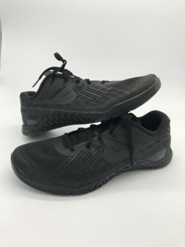 No Cross 490 Size 3 852928 002 Box 8 Training Mens 886066565352 Nike Triple Black Metcon zSPZfqZ