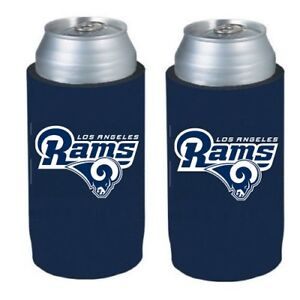 9040a81a Details about Los Angeles Rams 2 Pack Ultra Slim Can Holder - Skinny Koozie
