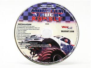 Monster Truck Rumble Windows 8 7 Vista Xp 95 98 Pc Driving