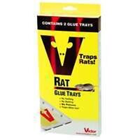 12 2 packs Victor M773 Rat & Mouse Glue Traps Trays Garden