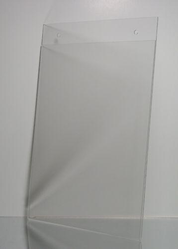(50) Wall mount 8.5 x 11 sign holder display frame