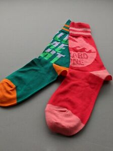 Vivienne-Westwood-odd-coloured-crew-socks-Cotton-Hold-me-tight-hazard-zone