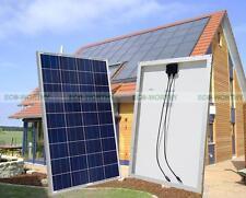 500W Grid Tie Solar System 5pcs 100W Solar Panel w/ Power Inverter for Home