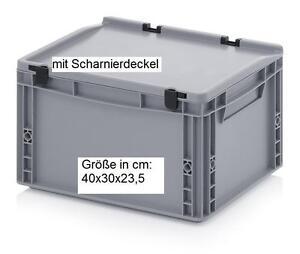 40x30x23-5-cm-Plastik-Behaelter-Kiste-Box-lebensmittelecht-Angler-Angelsport-X107