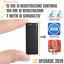 MICRO-MINI-REGISTRATORE-AUDIO-ATTIVAZIONE-VOCALE-8-GB-SPY-SPIA-AMBIENTALE-USB miniatura 1