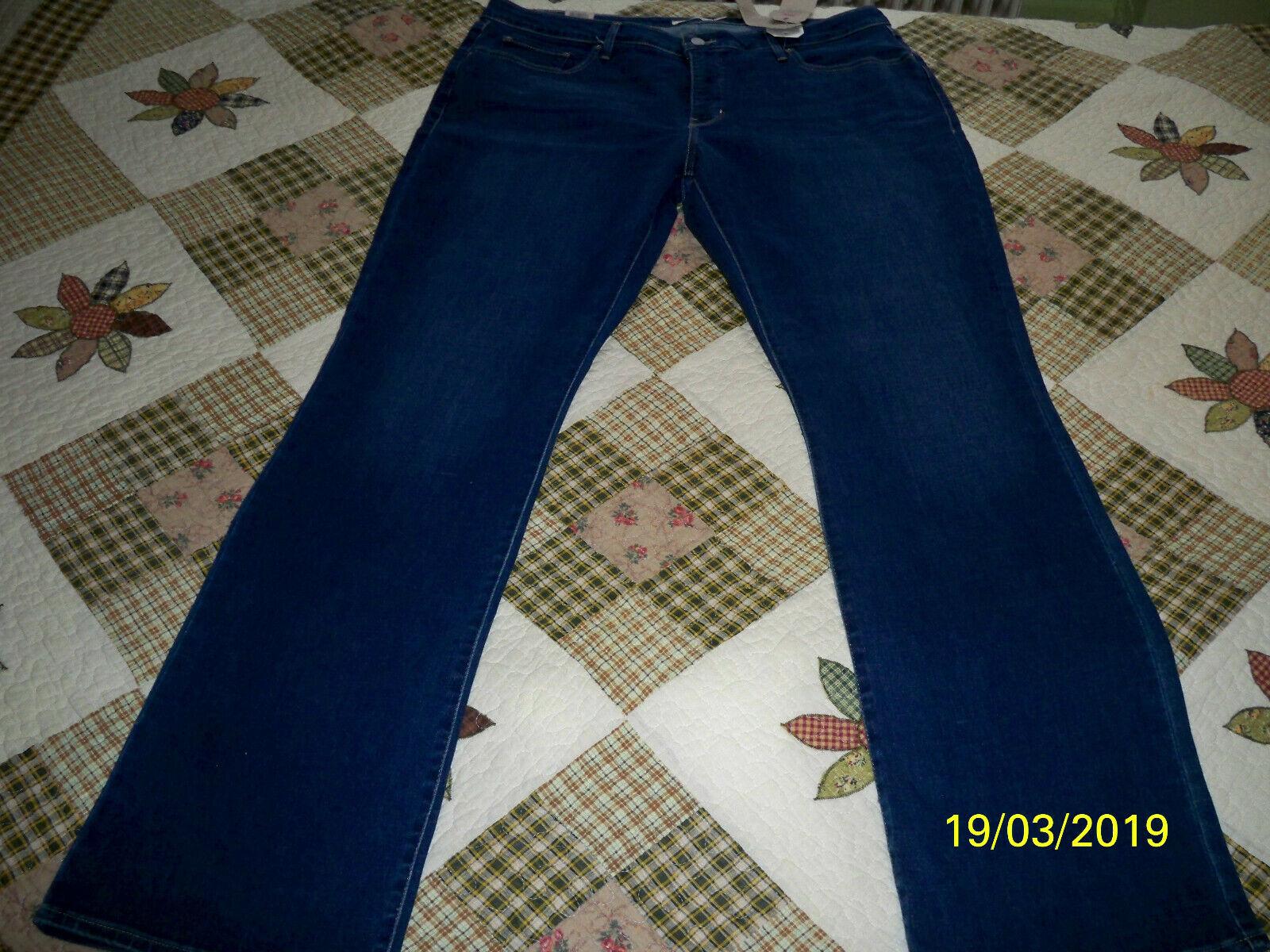 Neu 315 Shaping Stiefelcut Jeans (Plus Größe) gr 22 W