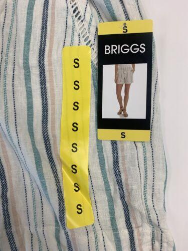 Briggs NY Women/'s Pull-On High Waist Perfect Summer ShortLightweight 1372191
