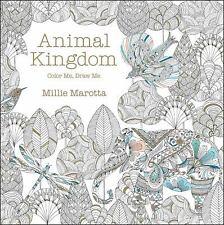 Animal Kingdom Color Me Draw By Millie Marotta 2014 Paperback
