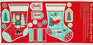 Stuart Hillard /'Nutcracker/' Christmas Toys Characters Cotton Fabric by the FQ//M*