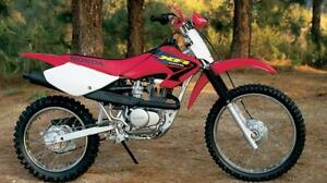 1998 2003 honda xr80r and xr100r service manual