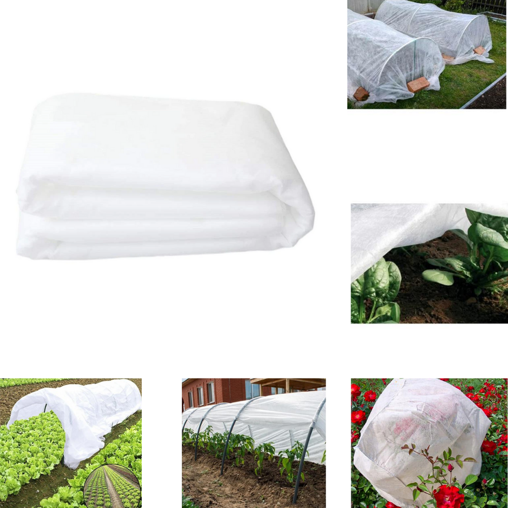 30gsm Garden Fleece Plant Protection White Cover Frost Winter HEAVY DUTY 2Mx5M